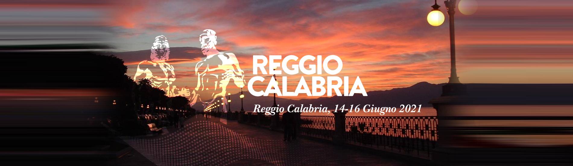 Reggio Calabria, 14-16 giugno 2021